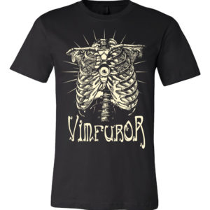 Vim Furor Heart Eye t shirt